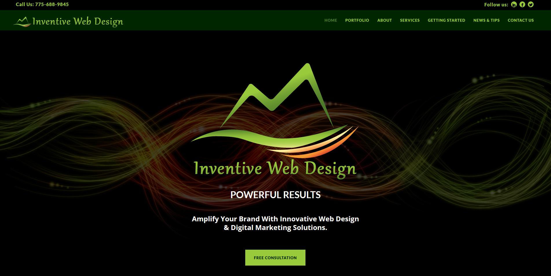 Inventive Web Design - New Website