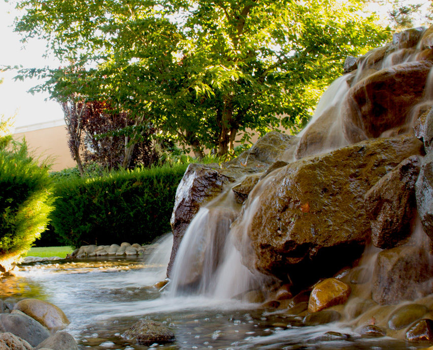 Reno Photography – Healing Minds Waterfall - Inventive Web Design