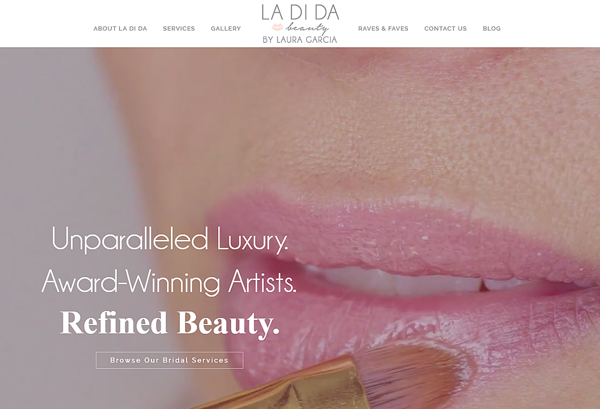 Video Background Website - LaDiDa Beauty