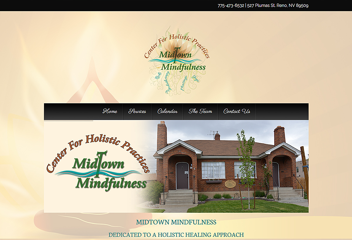 Custom Website - Midtown Mindfulness