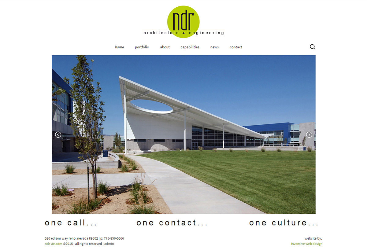 New Website Reno - NDR