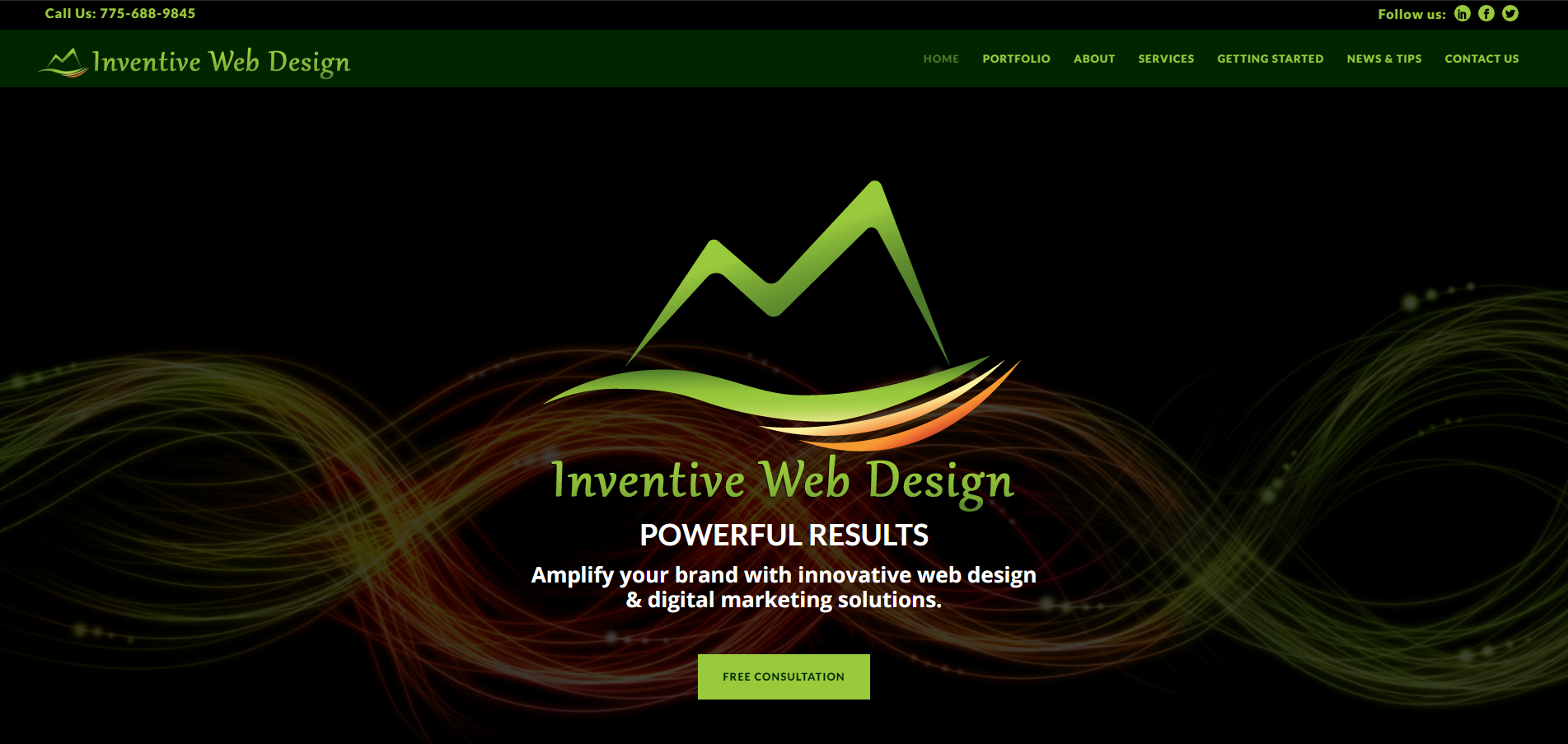 Standard Website - Desktop Computer - Inventive Web Design