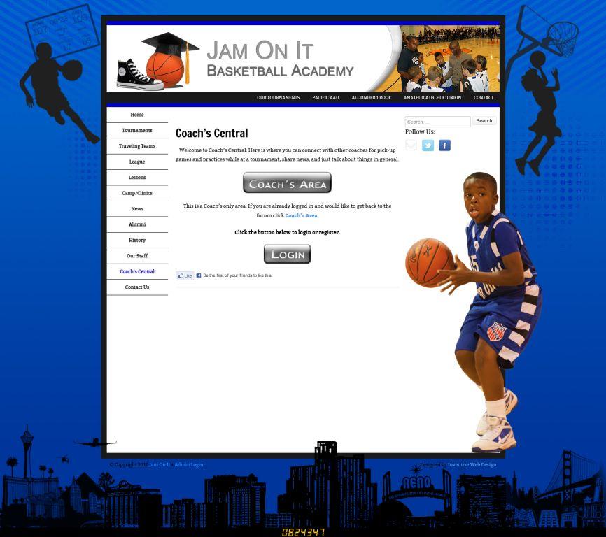 New Jam On It Website