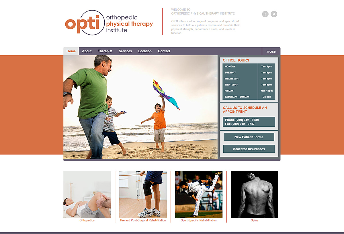 New Website - OPTI
